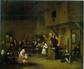 Peinture ancienne Classe_1687
