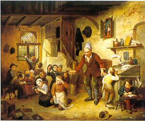 Peinture ancienne Classe_1842